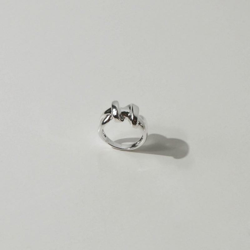 925 Twisting Rope Ring <br><font>Size 11•14</font>