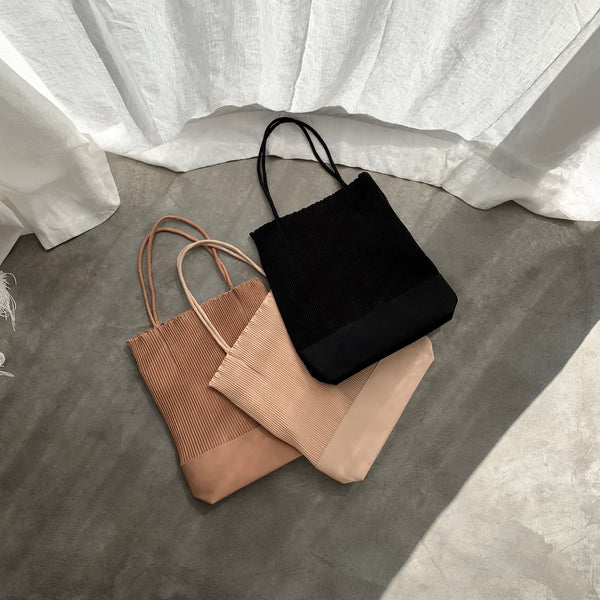 Marissa Pleated Tote Bag