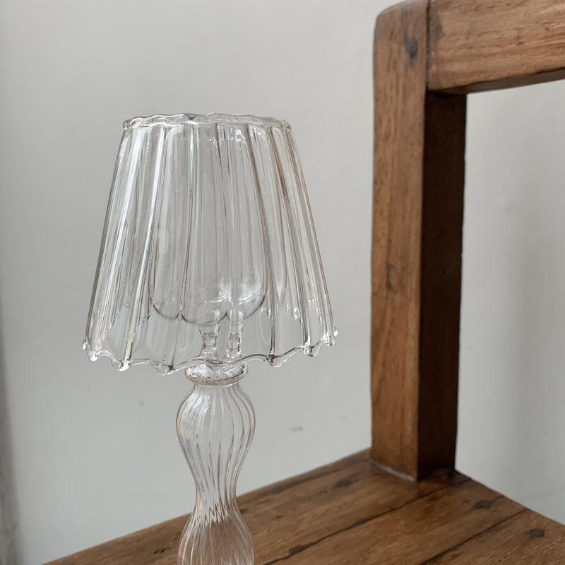 Lianne Lamp Glass Candle Stand