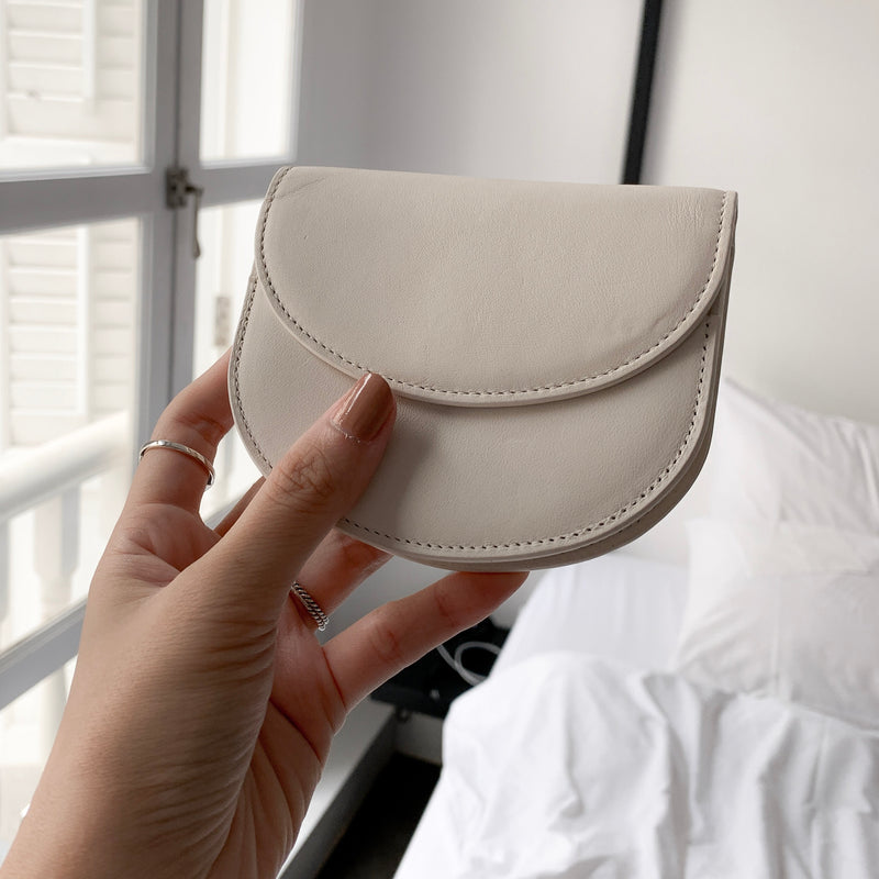 BUTTER HAMBURG PURSE BY BUCKS & LEATHER (Seoul)