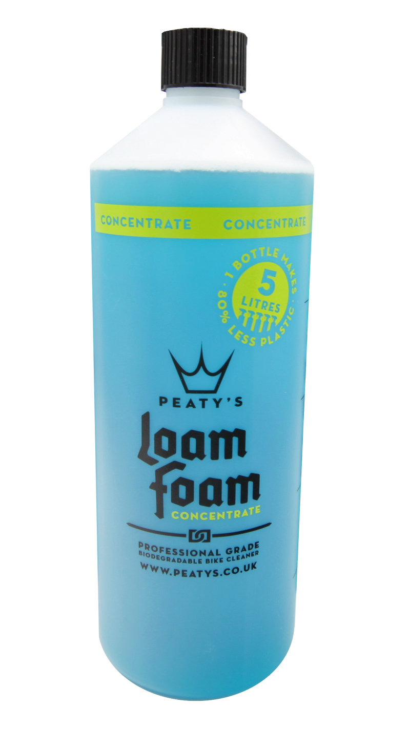 1L / 34oz Peaty's LoamFoam Concentrate Professional Grade Bike Cleaner - MD2 Distribution - Wholesale Distributors of Cycling Parts in the United States