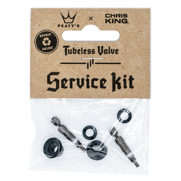 Peaty's x Chris King (MK2) Tubeless Valve Service Kit