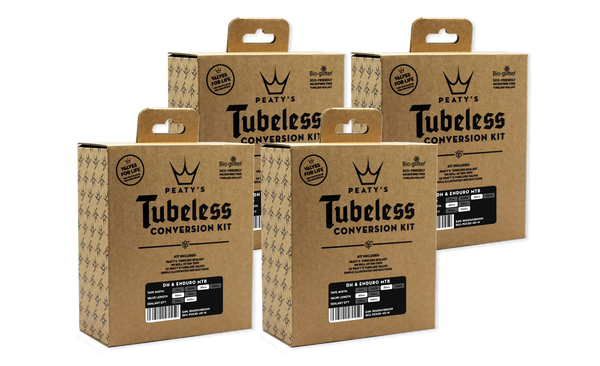Peaty's Tubeless Conversion Kit - 30mm (MTB) - (4x Case)