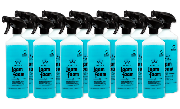 1L / 34oz Peaty's Loam Foam Professional Grade Bike Cleaner (12x Case)