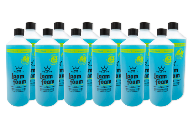 1L / 34oz Peaty's Loam Foam Concentrate Professional Grade Bike Cleaner (12x Case)