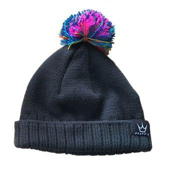 Peaty's Subtle Rainbow Bobble Hat 2018 - MD2 Distribution - Wholesale Distributors of Cycling Parts in the United States