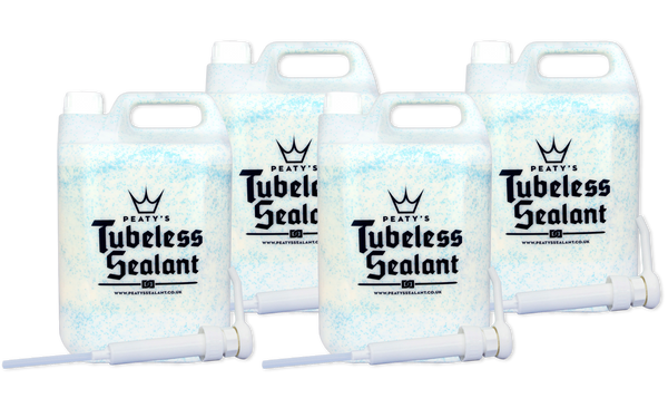 Peaty's Tubeless Sealant 5L Workshop Pump Tub (4x Case)