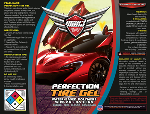 Pearl Nano Perfection Tyre Gel is a TYRE SHINE & EXTERIOR TRIM Rejuvenator