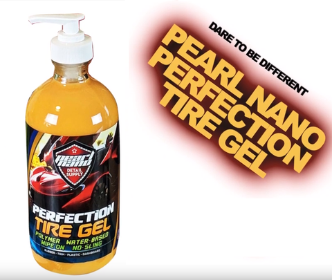 <transcy>Pearl Nano Perfection Tire Gel es un rejuvenecedor de BRILLO DE NEUMÁTICOS Y TRIM EXTERIOR</transcy>