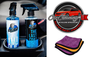 The Last Coat Car Polish - Water Based Liquid Coating Protection 16oz
