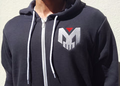 Exclusive! Zombie Gunship Hoodies - Dark Grey