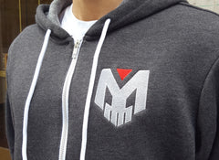 Exclusive! Zombie Gunship Hoodies - Heather Grey