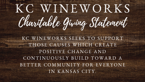 Donation Policy – KC Wineworks