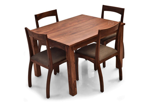 Leo - Brad 4 Seater Dining  Set in Teak Finish