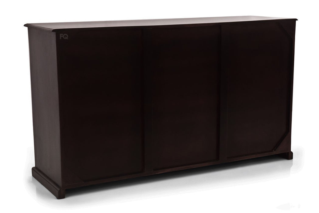 Chapman Cabinet in Mahogany Finish