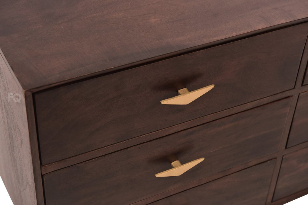 Richie Chest of Drawers in American Walnut Finish