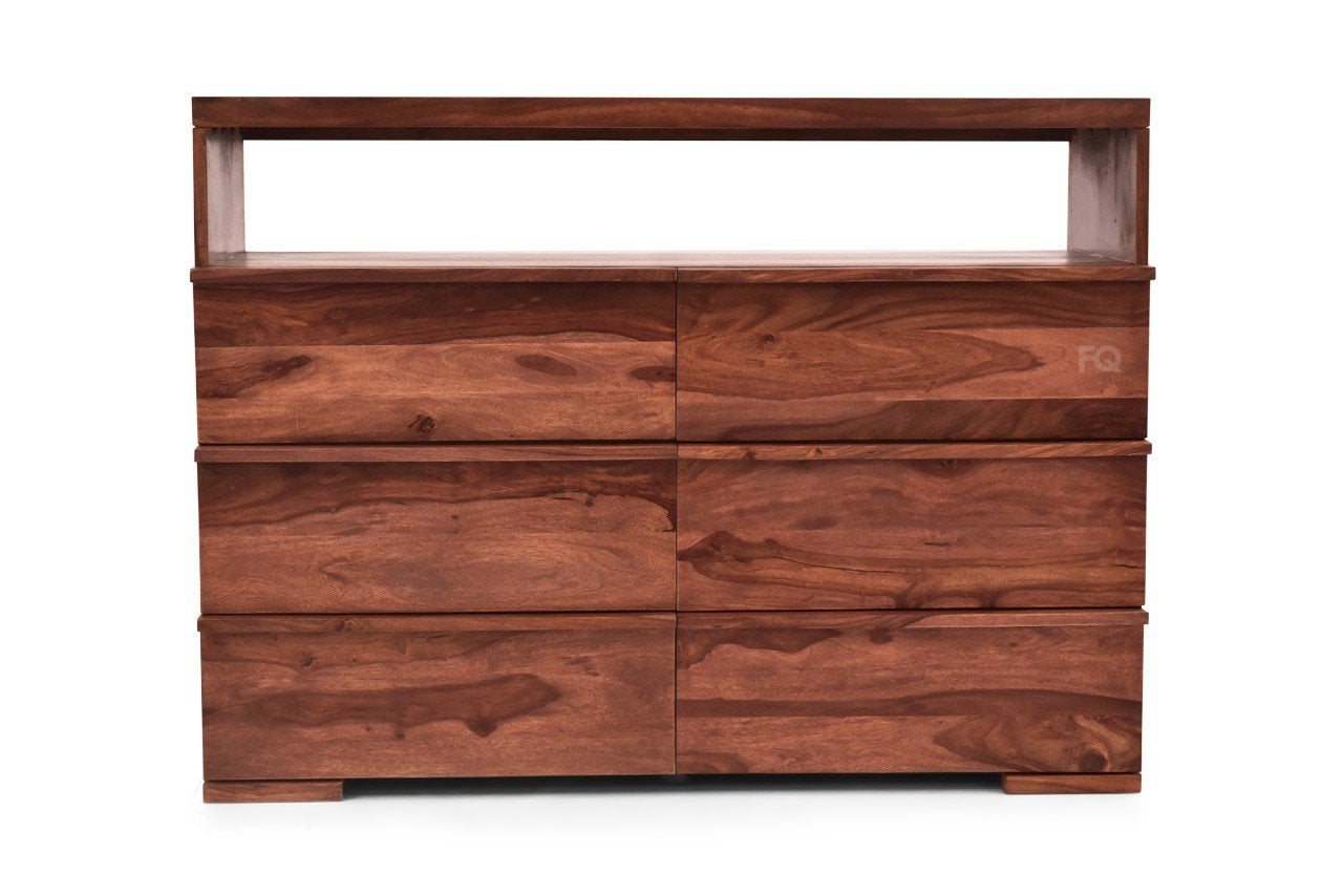 Ohio Chest Of Drawers in Teak Finish