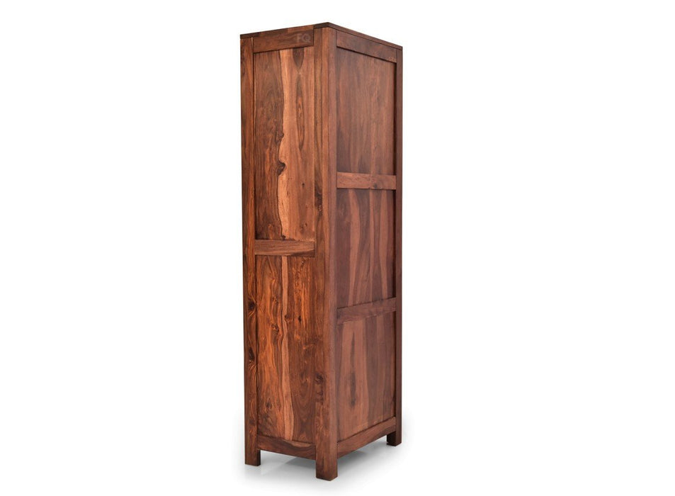 Culombus Book Cabinet in Teak Finish