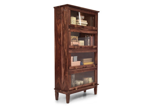 Arnold Book Cabinet in Teak Finish