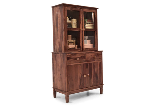 Arnold Crockery Cabinet in Teak Finish