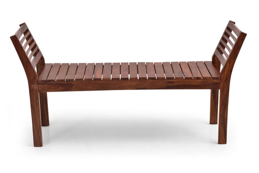 Andy Bench in Teak Finish