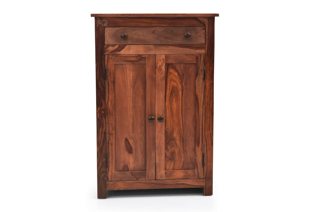 Charlie Shoe Cabinet in Teak Finish