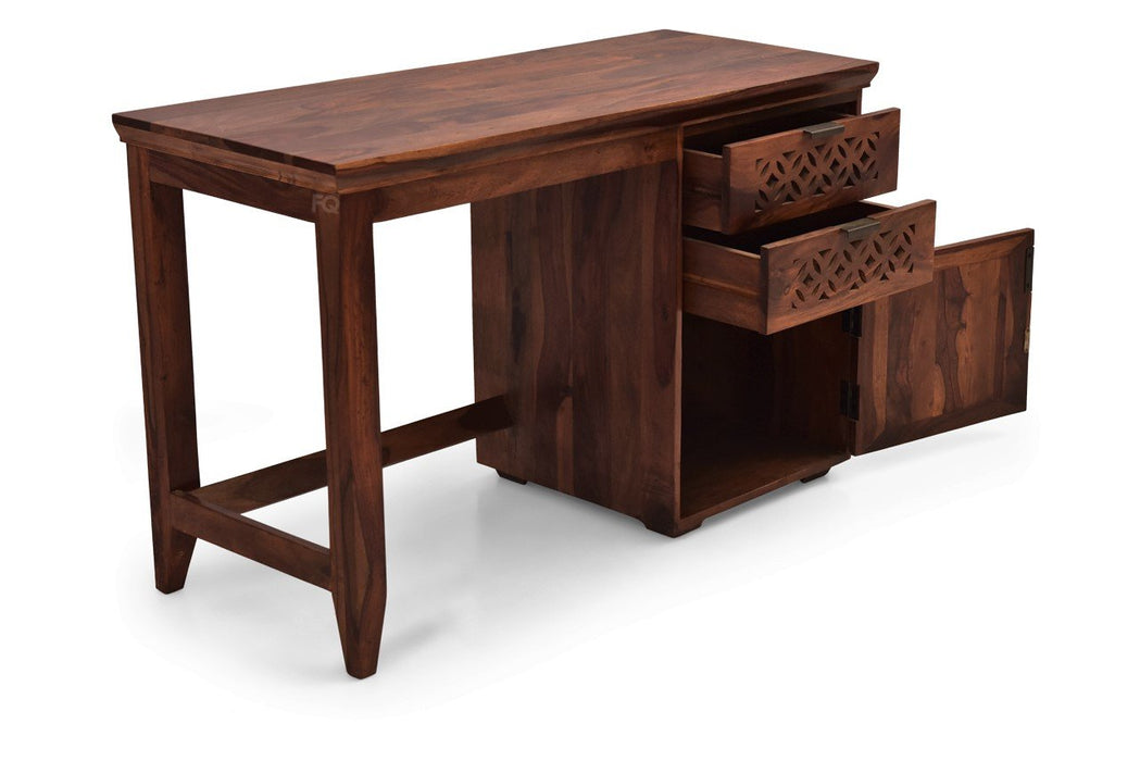 Zen Study Table in Teak Finish