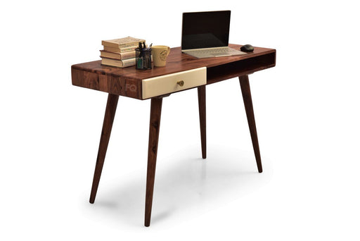 Kiwi Study Table in Teak Finish