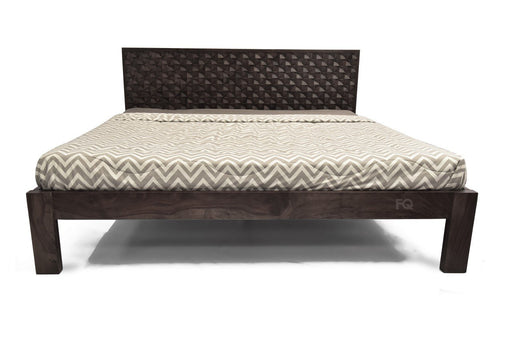 Carter Bed in American Walnut Finish