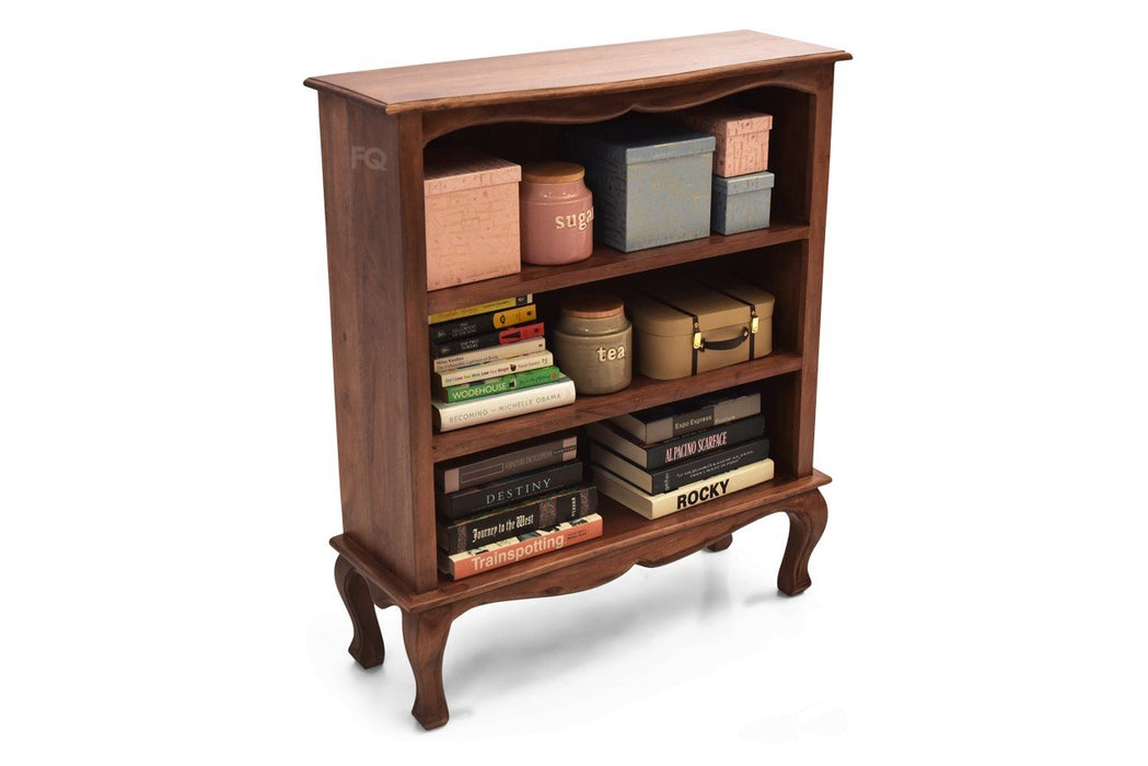 Alex Book Cabinet in Teak Finish
