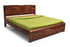 Montreal Bed Without Storage in Teak Finish