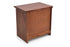 Montreal Bed Side Table in Teak Finish