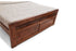 Brooklyn Bed Without Storage in Teak Finish