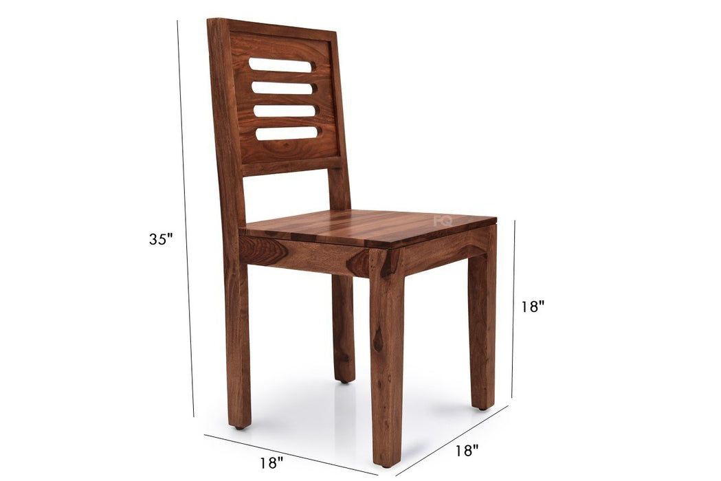 Ricky Chair in Teak Finish