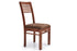 Chelsea - Viena 6 Seater Dining Set in Teak Finish