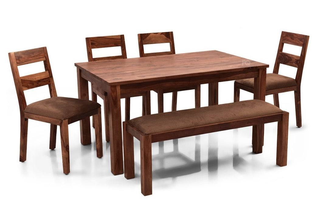 "Leo 57"" - Bryan 6 Seater Dining Set"