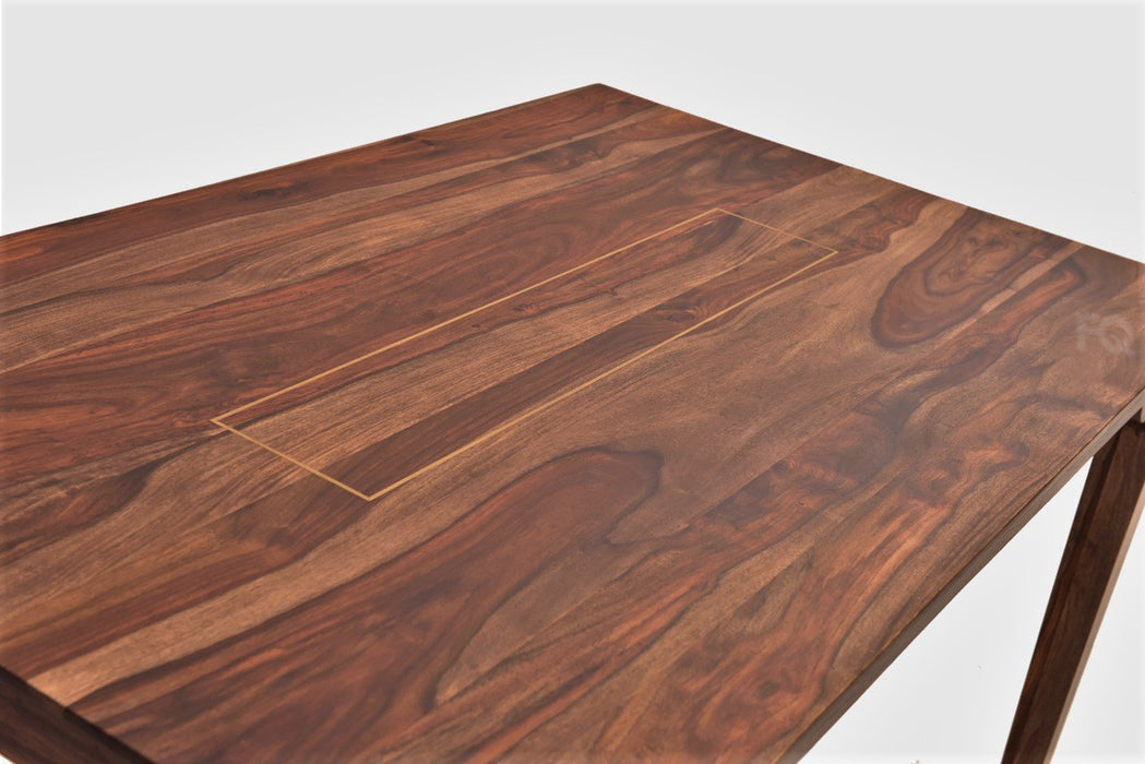 Arnold Dining Table in Teak Finish