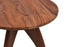 Crown Side Table in Teak Finish