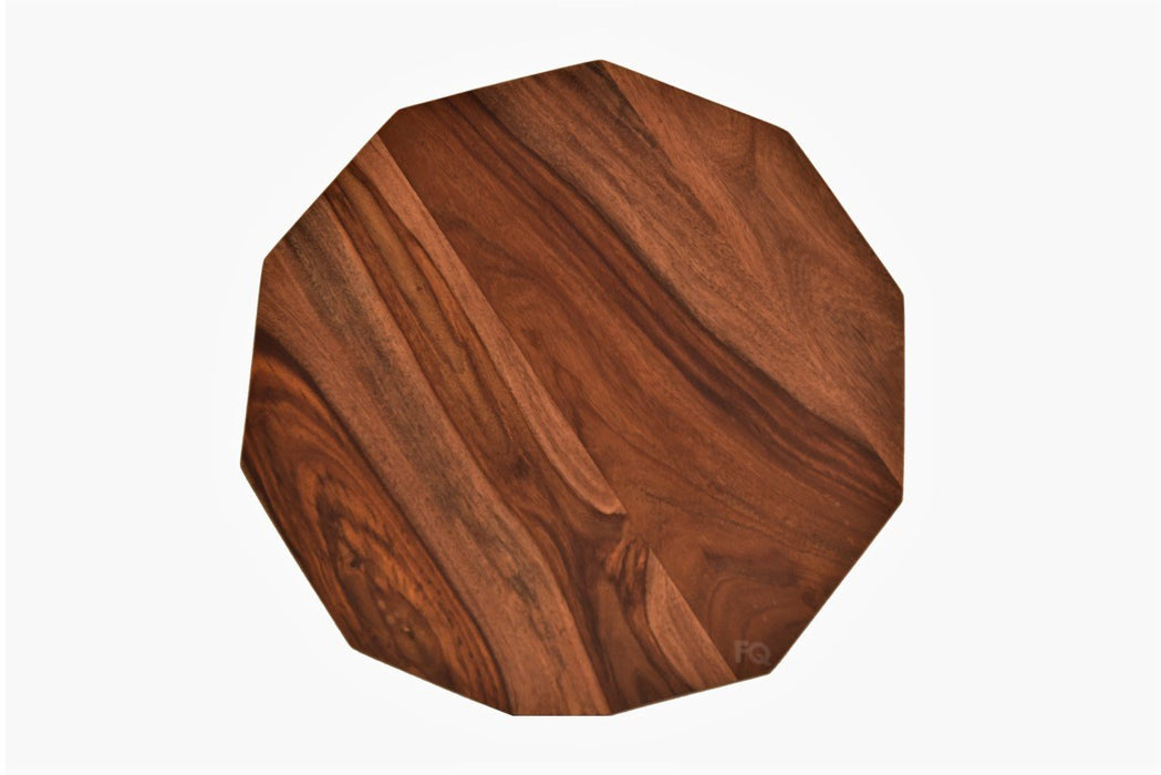 Kobe Side Table in Teak Finish
