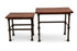 Bruno Nested Tables in Teak Finish