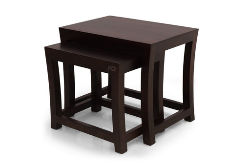 Reo Nested Tables in Mahogany Finish