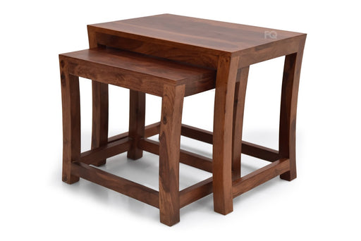 Reo Nested Tables  in Teak Finish