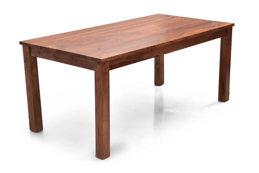 Leo XL Dining Table in Teak Finish