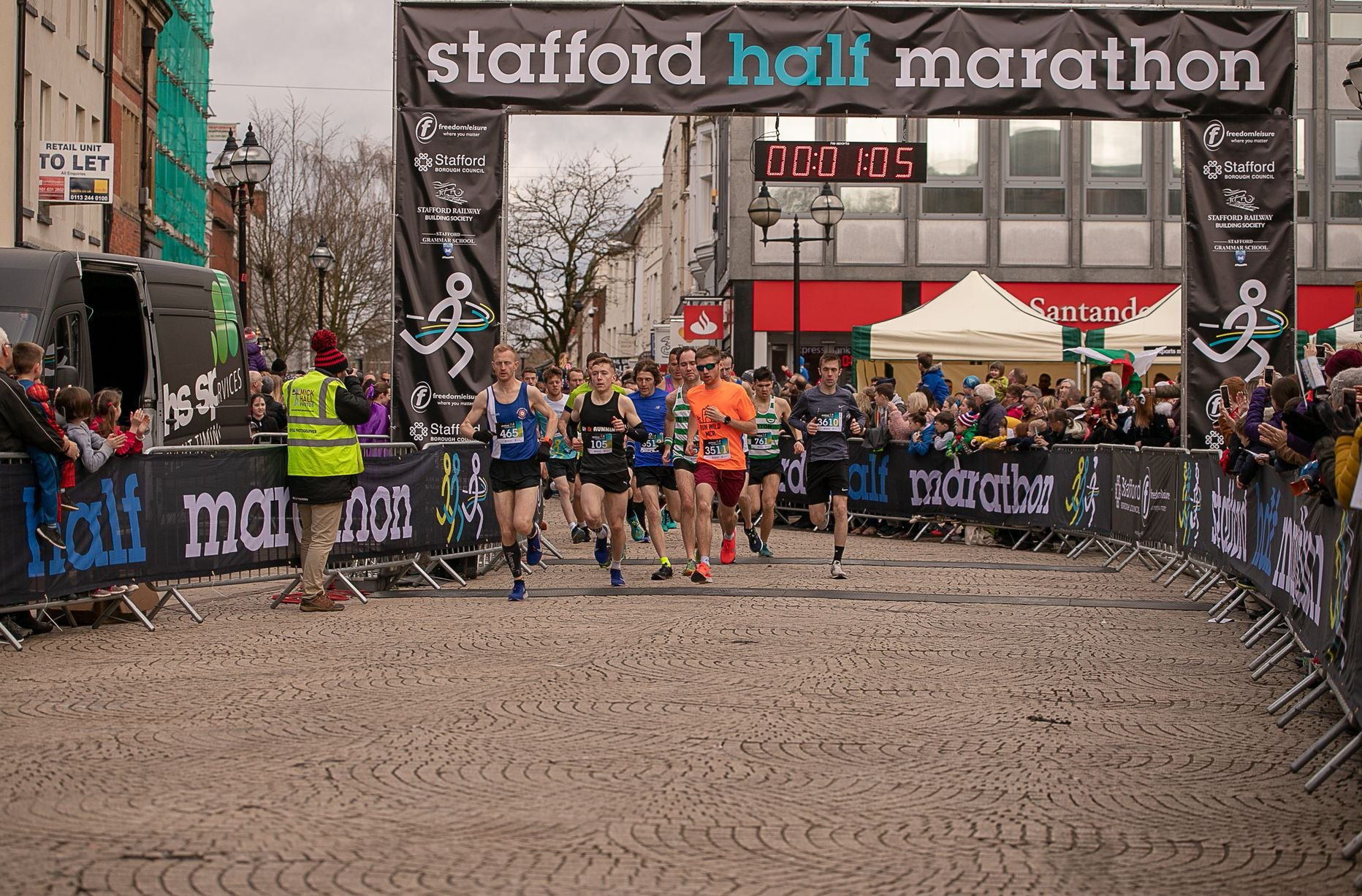 A personal best at the Stafford half marathon