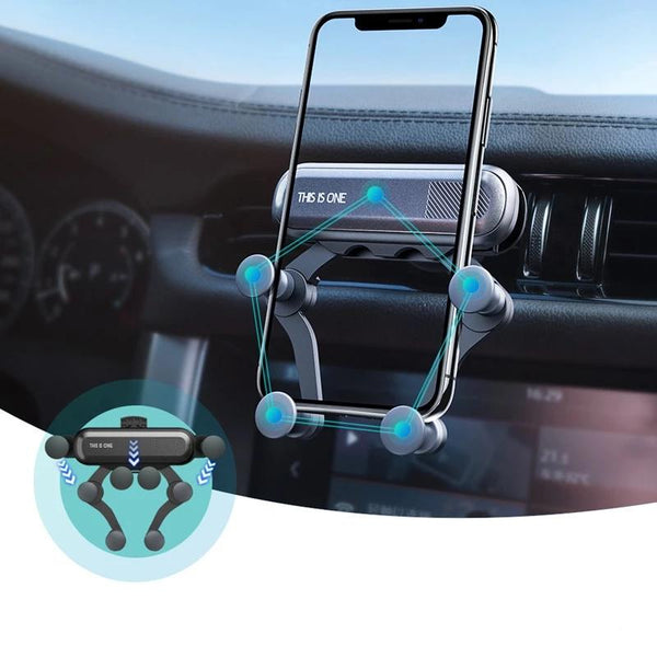 Gravity: The Easy Car Phone Mount