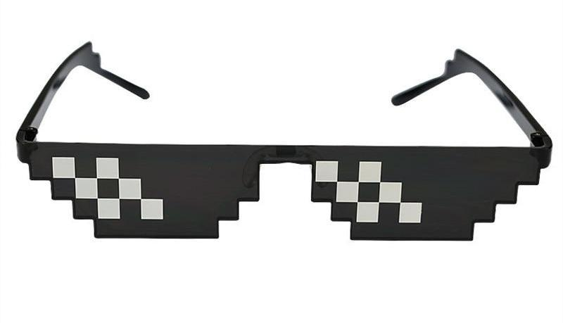 Deal With It!: The Thug Life 8-Bit Sunglasses