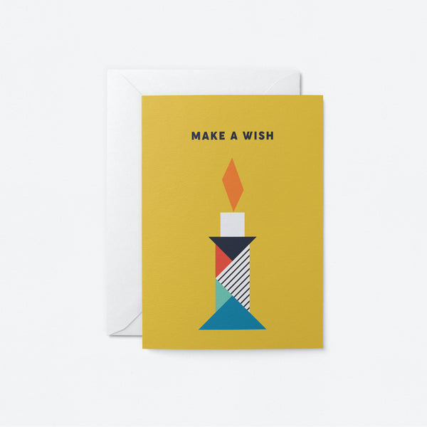 Make a wish Greeting Card by Graphic Factory
