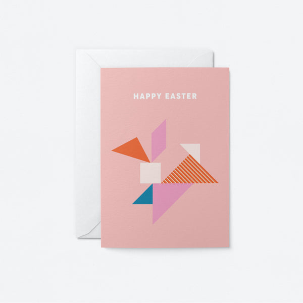 Easter Bunny Greeting Card by Graphic Factory