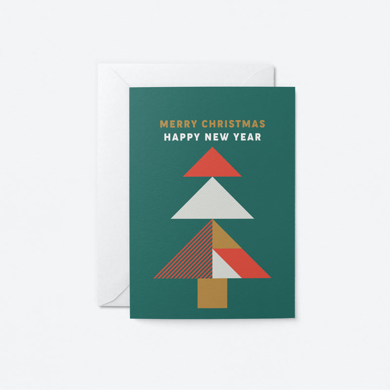 Happy New Year Greeting Card by Graphic Factory