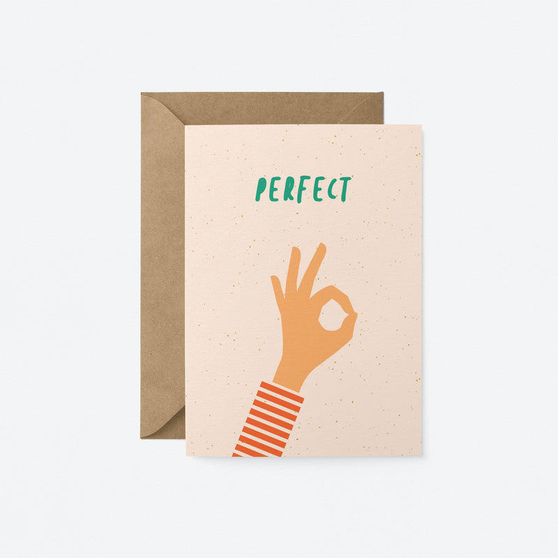 Perfect Greeting Card by Graphic Factory
